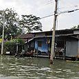 Canal side living at Bangkok, Thailand