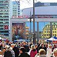 Sunday market in Stockholm