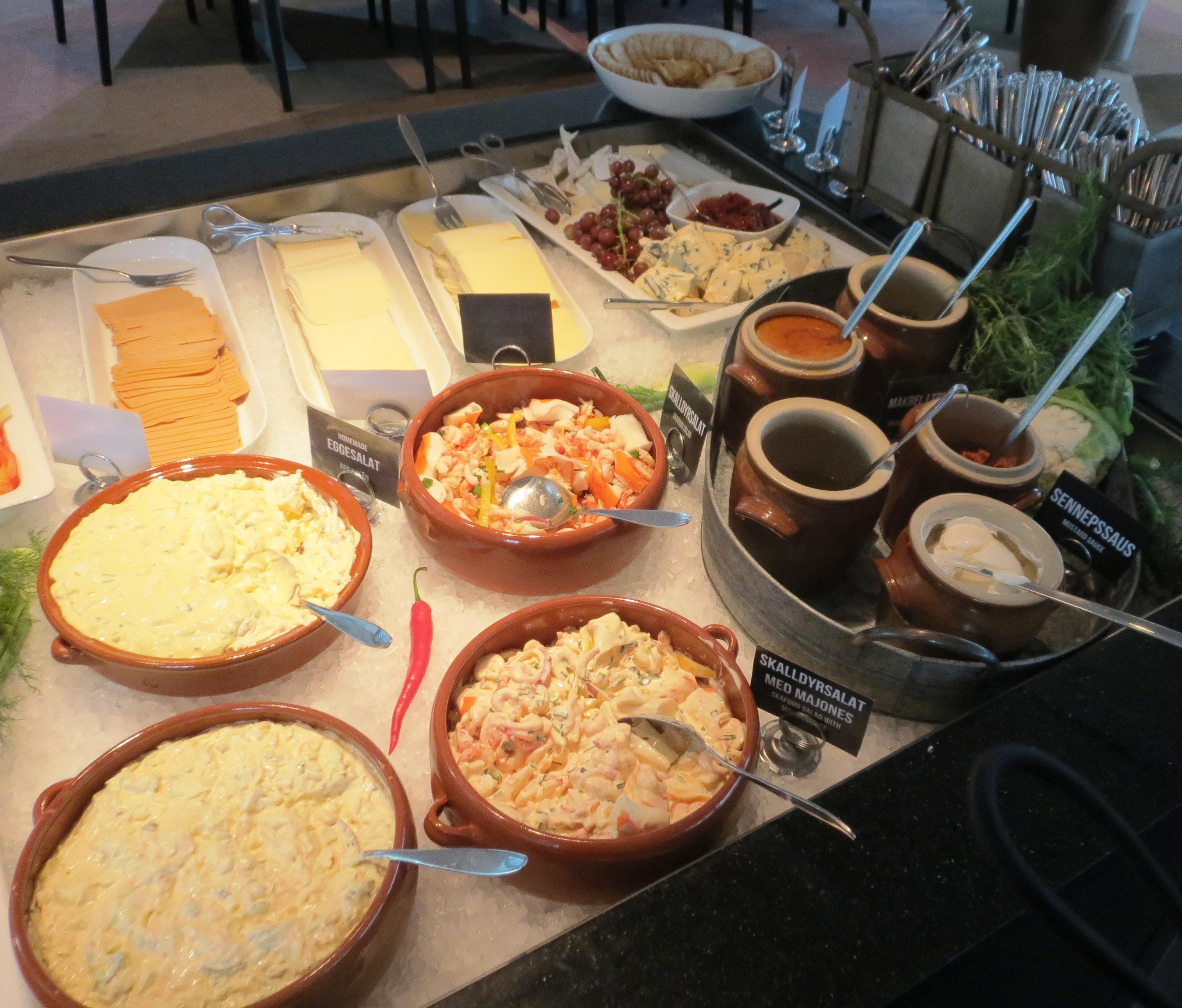 Clarion Hotel Breakfast
