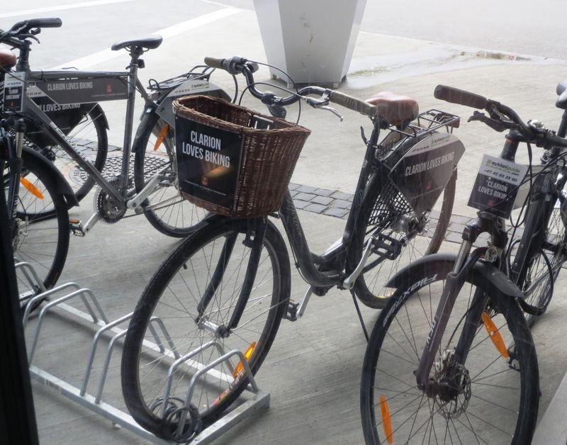 Clarion Hotel & Congress Trondheim_Bikes_1